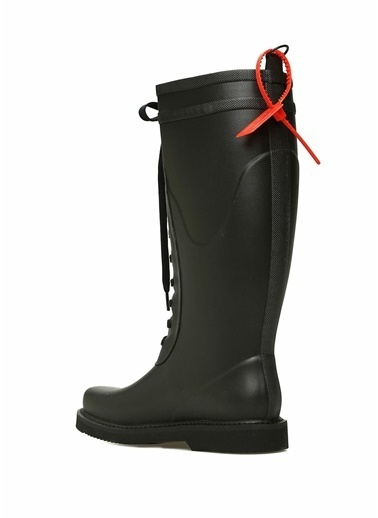 Off-White Çizme Siyah